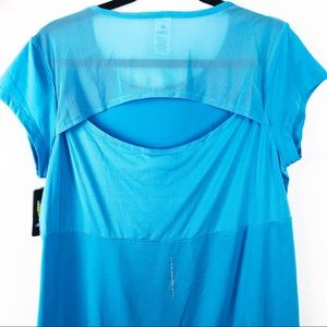 C9 by Champion Blue Open Back Top Size L